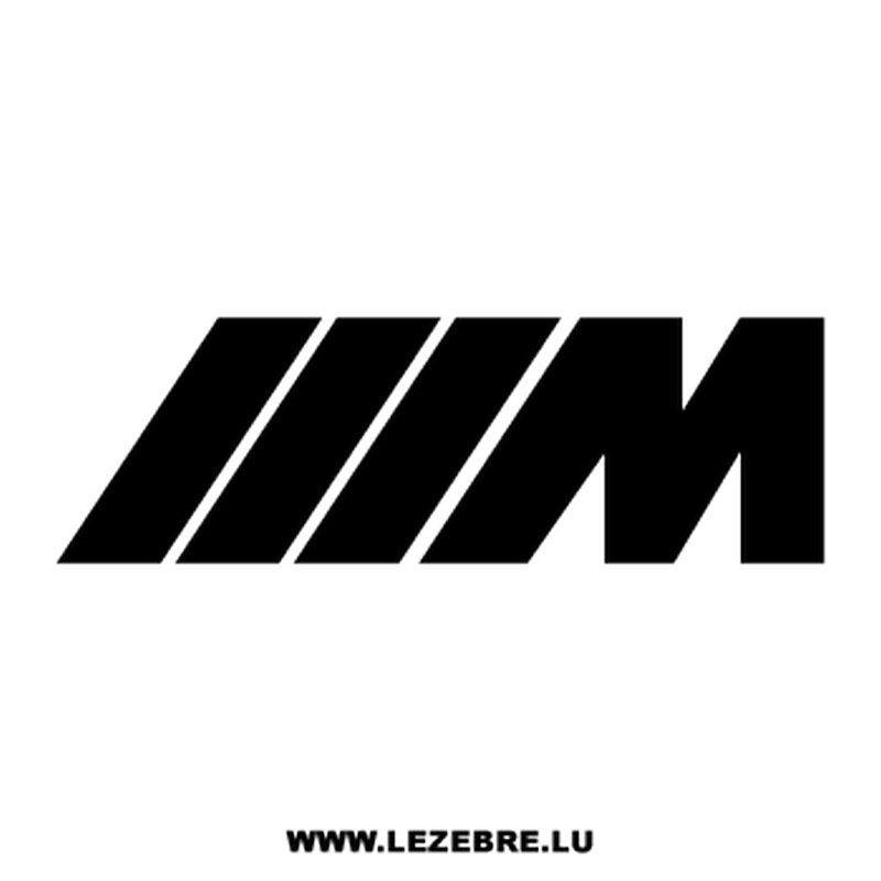 Bmw m logo png. Series logos decal
