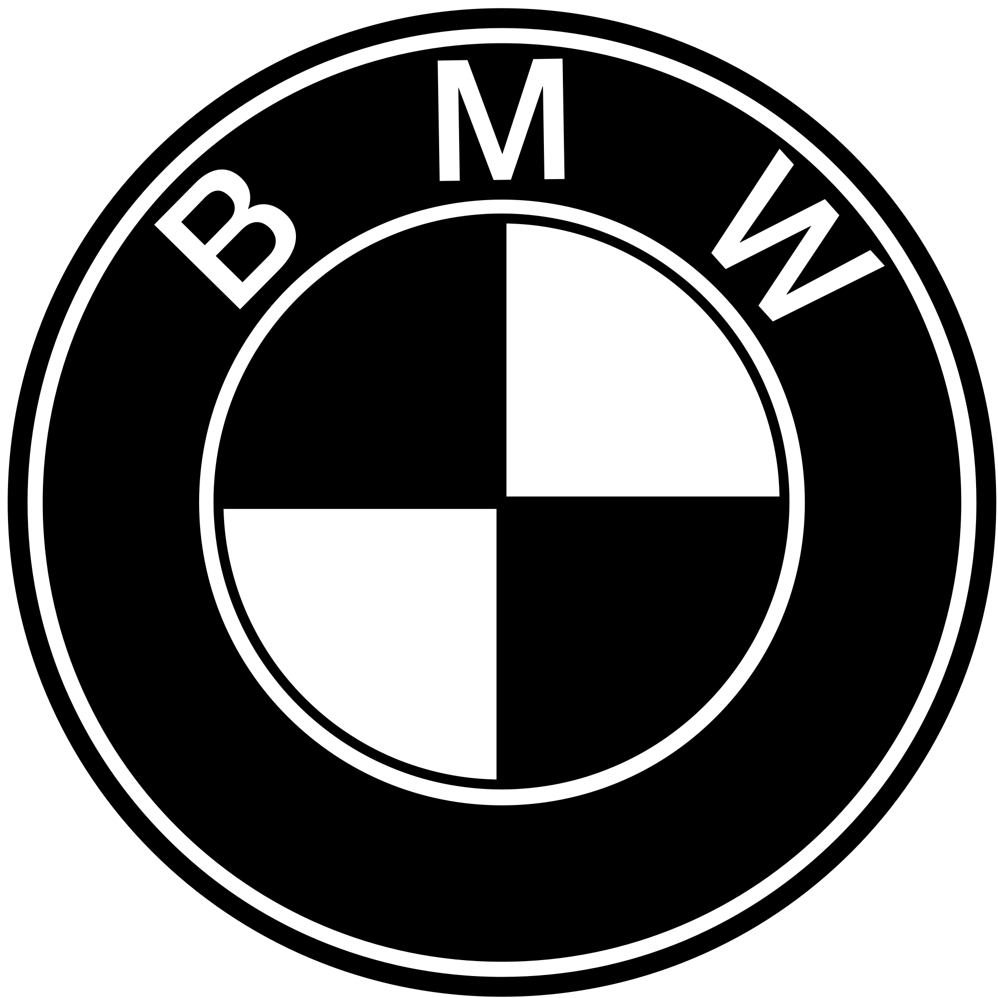 Bmw roundel png. File svg wikimedia commons