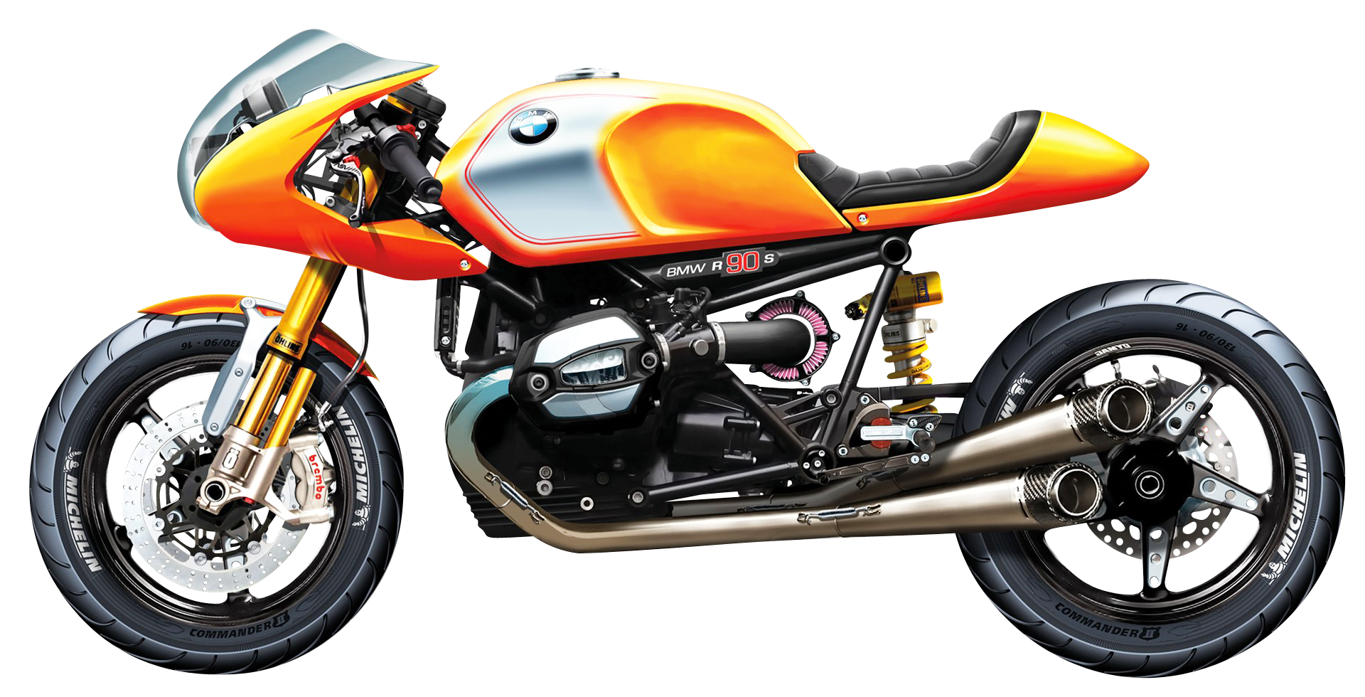 Bmw side view png. R s sport motorcycle