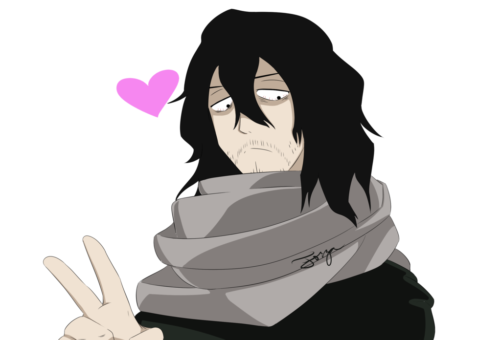 Bnha transparent edgy. Peace aizawa by f
