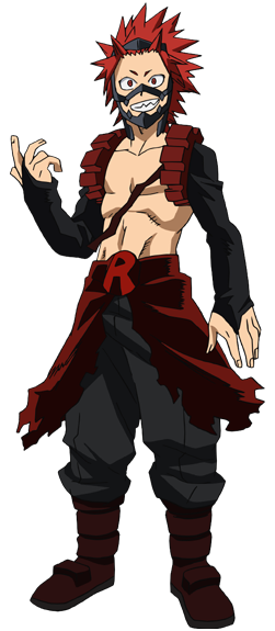 Bnha transparent hero costume. Eijiro kirishima boku no