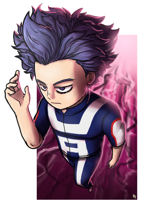 Bnha transparent shinsou. Hitoshi action shot by