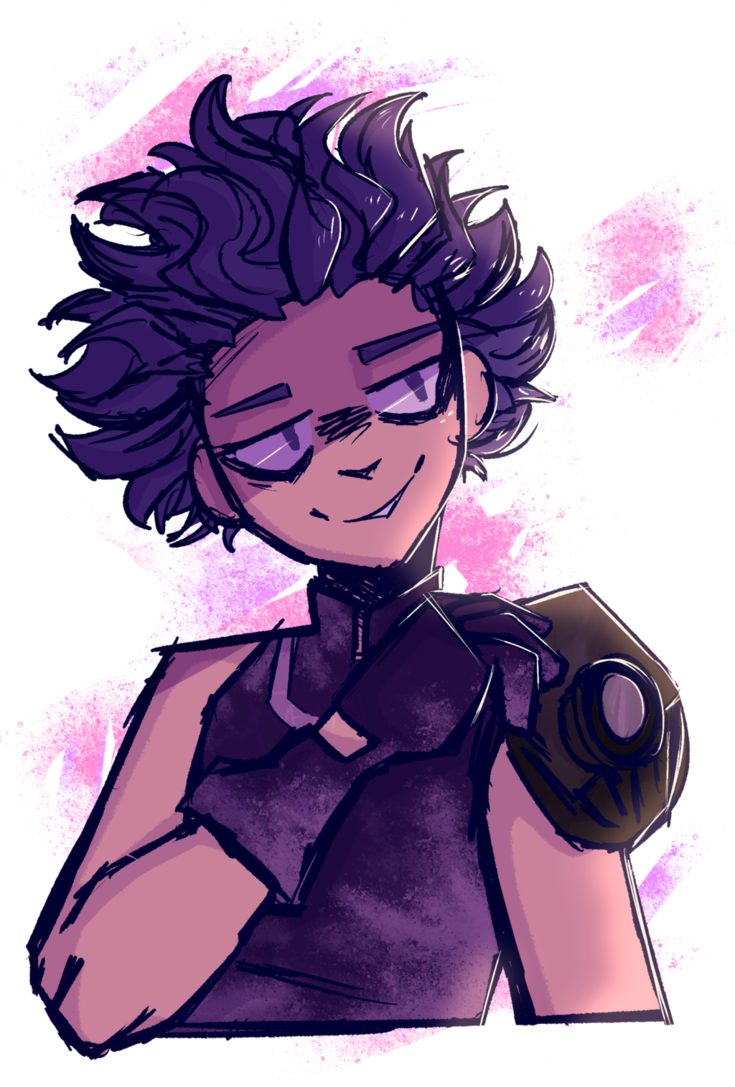 Bnha transparent shinsou. I wanted to draw