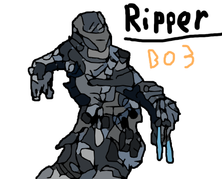 Bo3 ripper png. Bo drawing by a