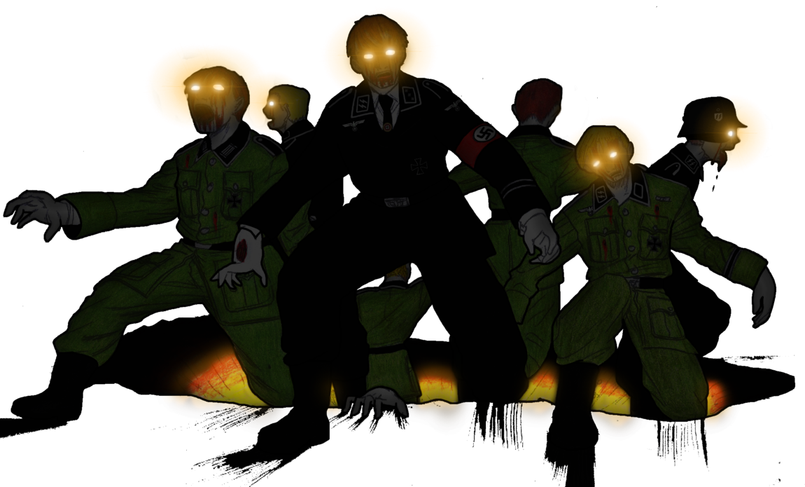 Bo3 zombie png. Zombies marching from hell