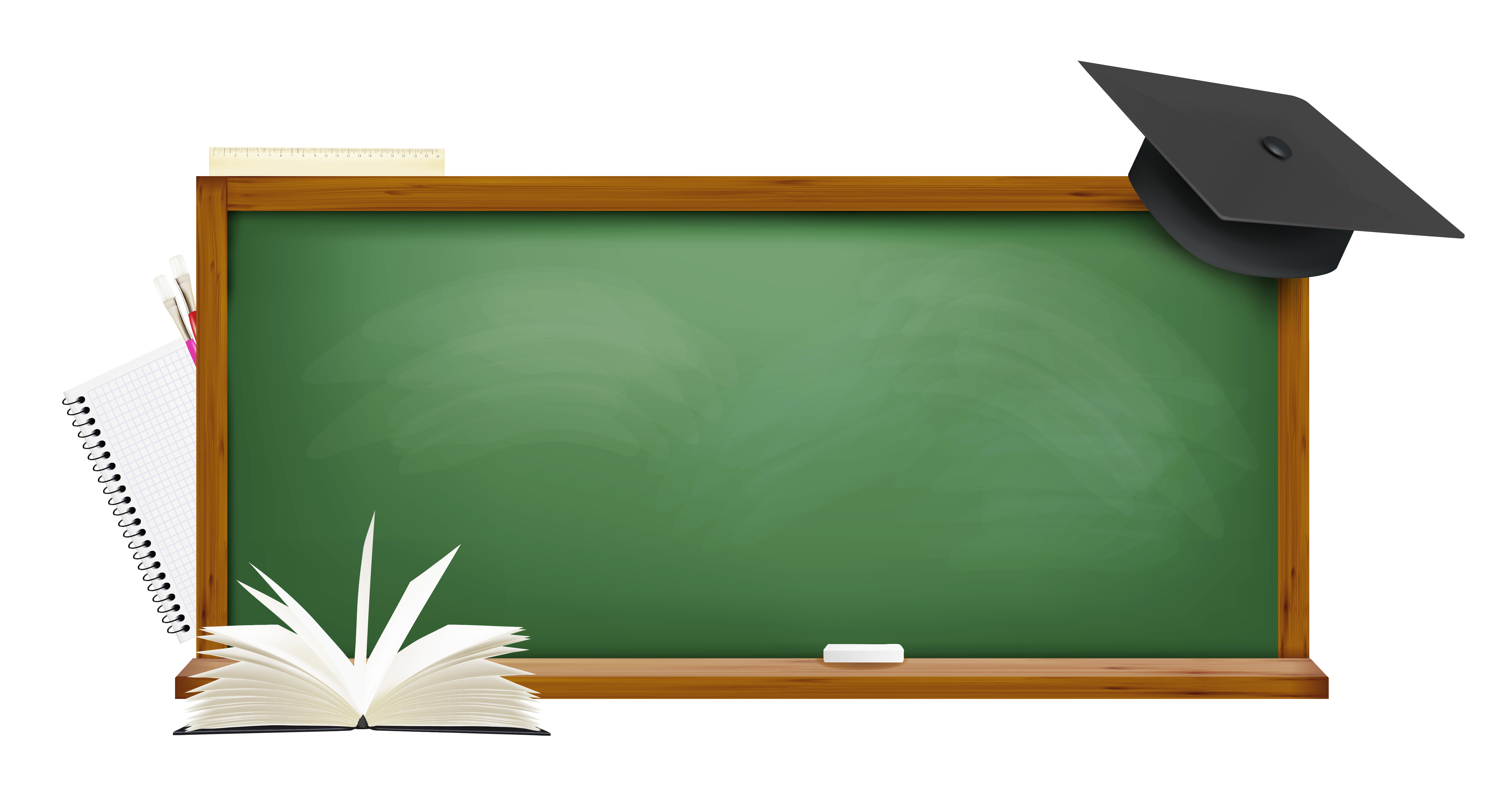 Board clipart. Green school png picture