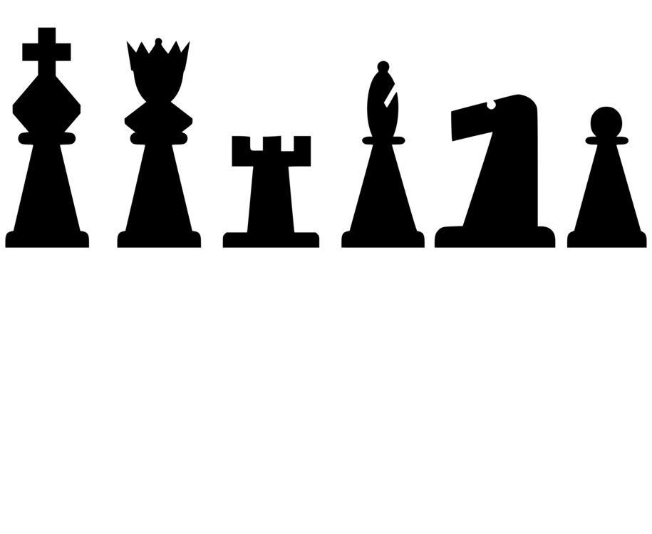 Chess clipart chess piece. Rook knight pawn free