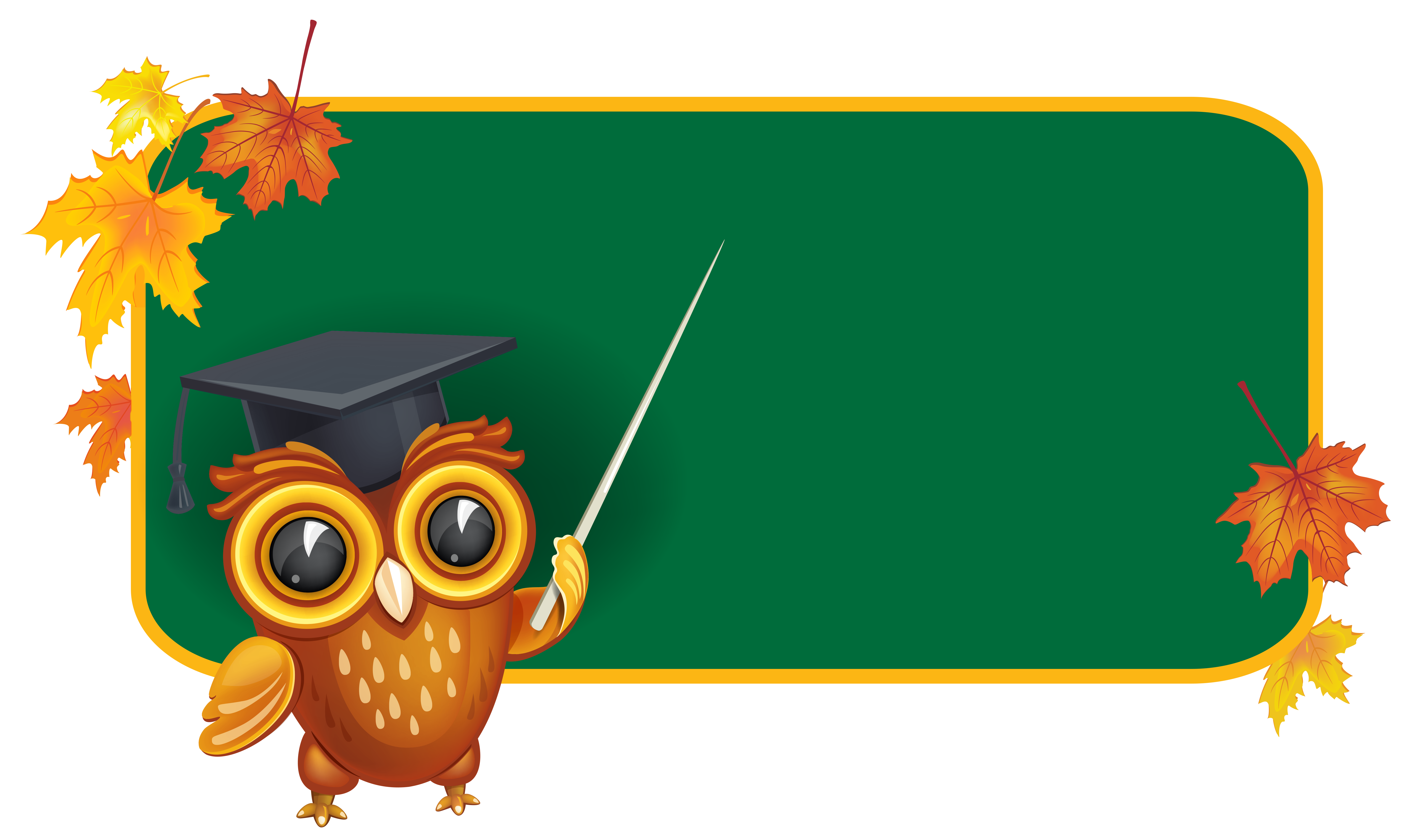 Board clipart owl. With school png image
