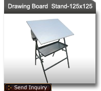 Board drawing stand. Equipments lab sheet container