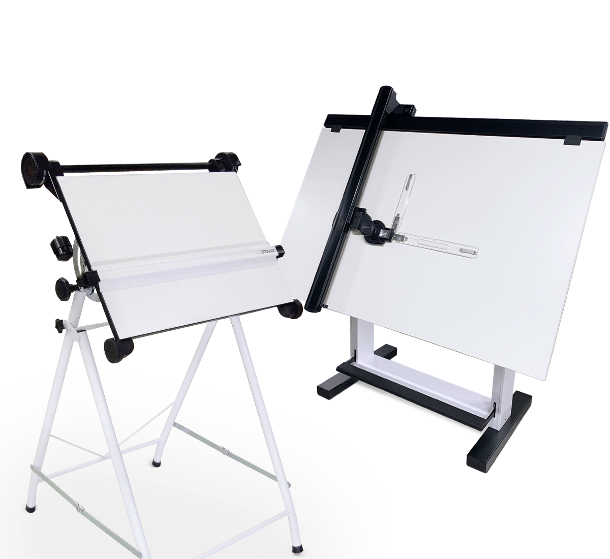 Board drawing stand. Light boxes and boards