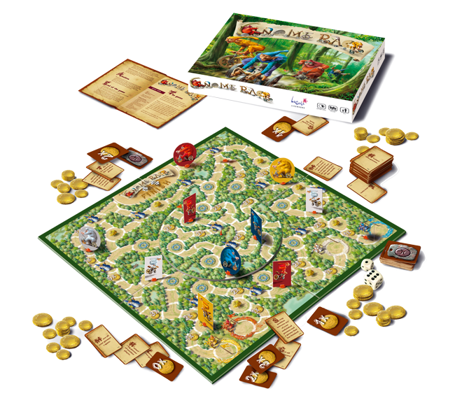 Board games png. Gnome race the game