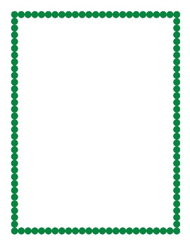 Boarder clipart green. Border by eyeballs and