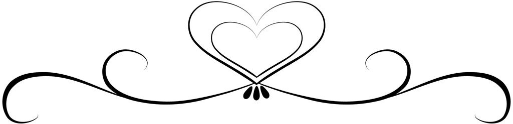 Bridal clipart heart. Wedding clip art black
