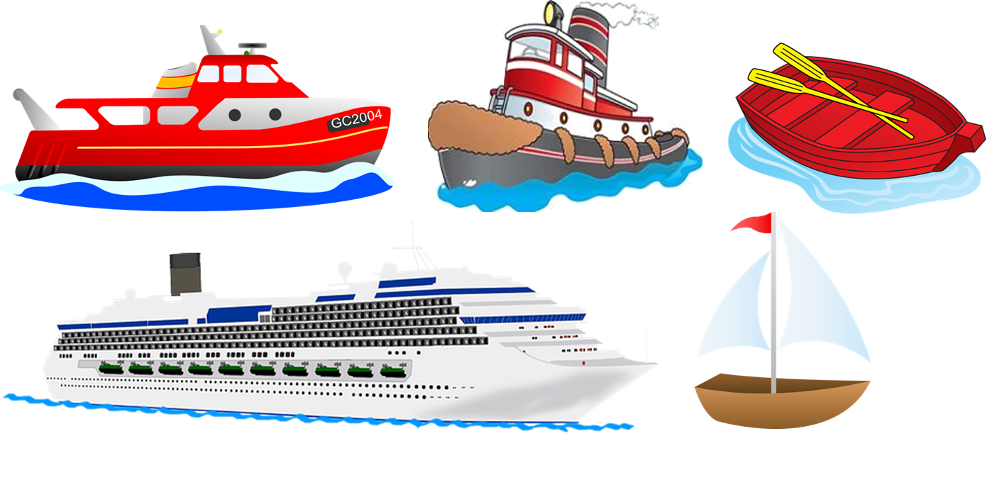 Boat clipart transportation. Boats sunflower storytime clip