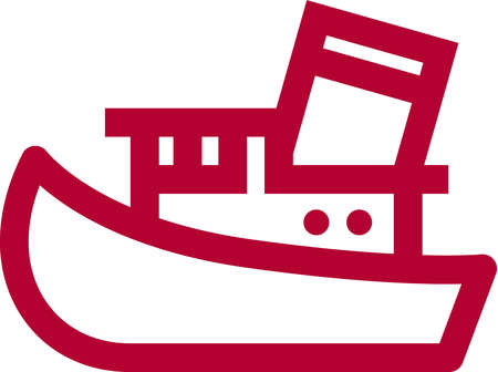 Boat clipart tugboat. Stock illustration a picture