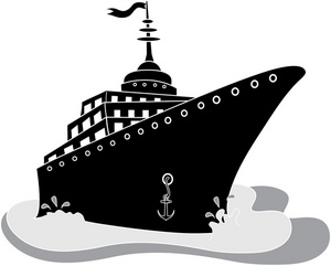 Free ship clip art. Boating clipart cruise image library download