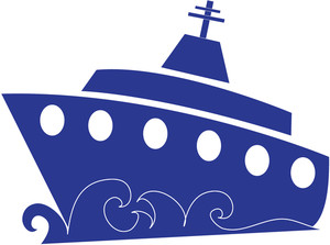 Free ship clip art. Boating clipart cruise image free stock