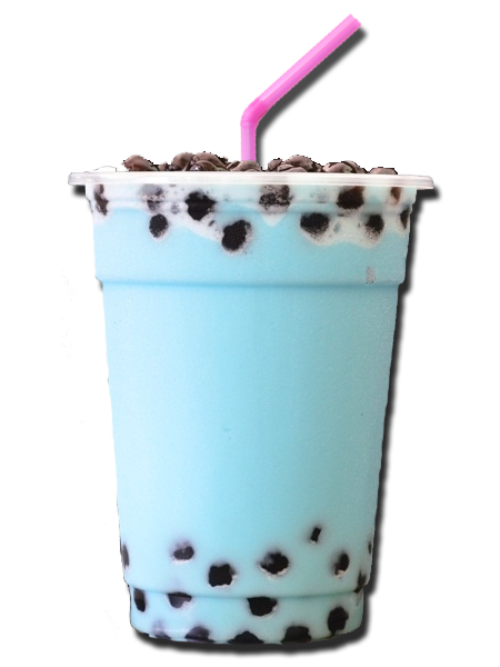 Transparent tea boba. Via tumblr on we