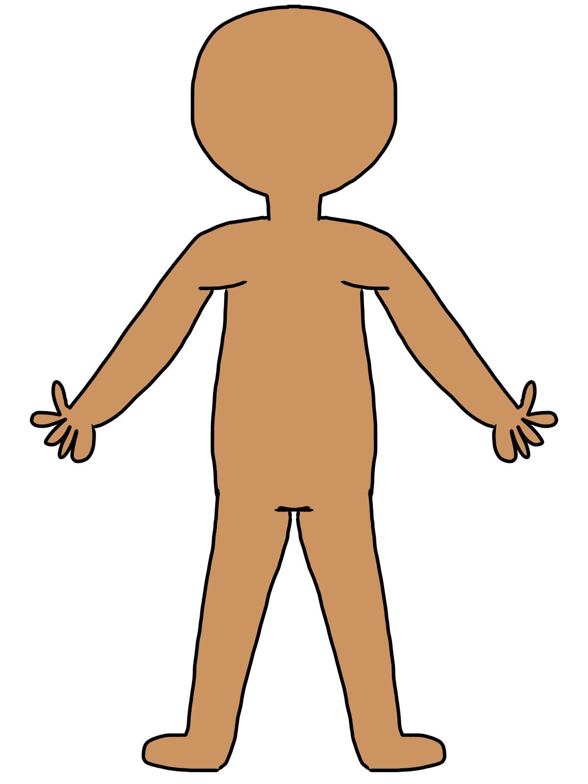 Calm clipart positive body image. Free