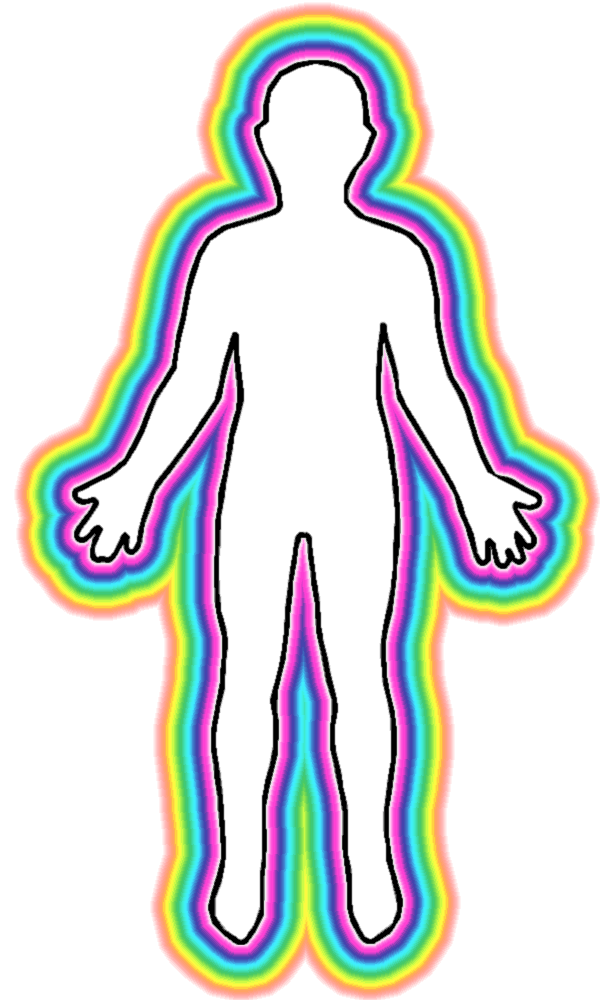 transparent personality outline