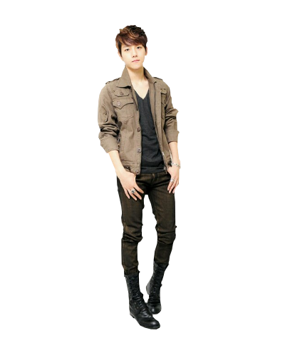 Body clipart whole body. Boy exo luhan full
