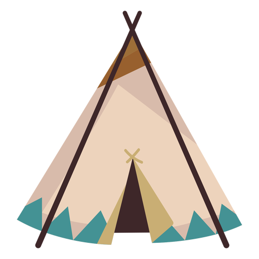 Tipi drawing native american. Boho teepee clipart images