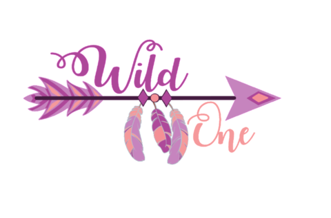 Boho svg. Newest products wild one
