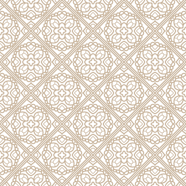 Boho vector background. Tile seamless pattern wallpaper
