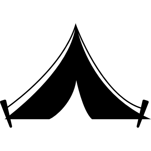 Boho vector tent. Icons free download demo