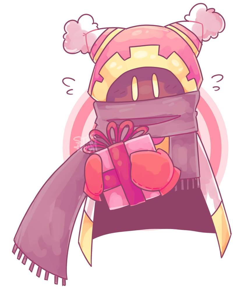 Boi transparent knight. Kirby doodle by starlightjuice