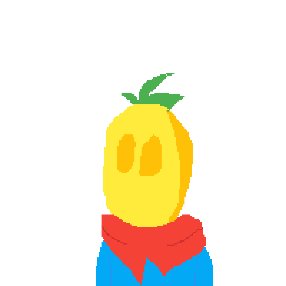 Boi transparent yellow. Pixilart lemon by sansguygaming
