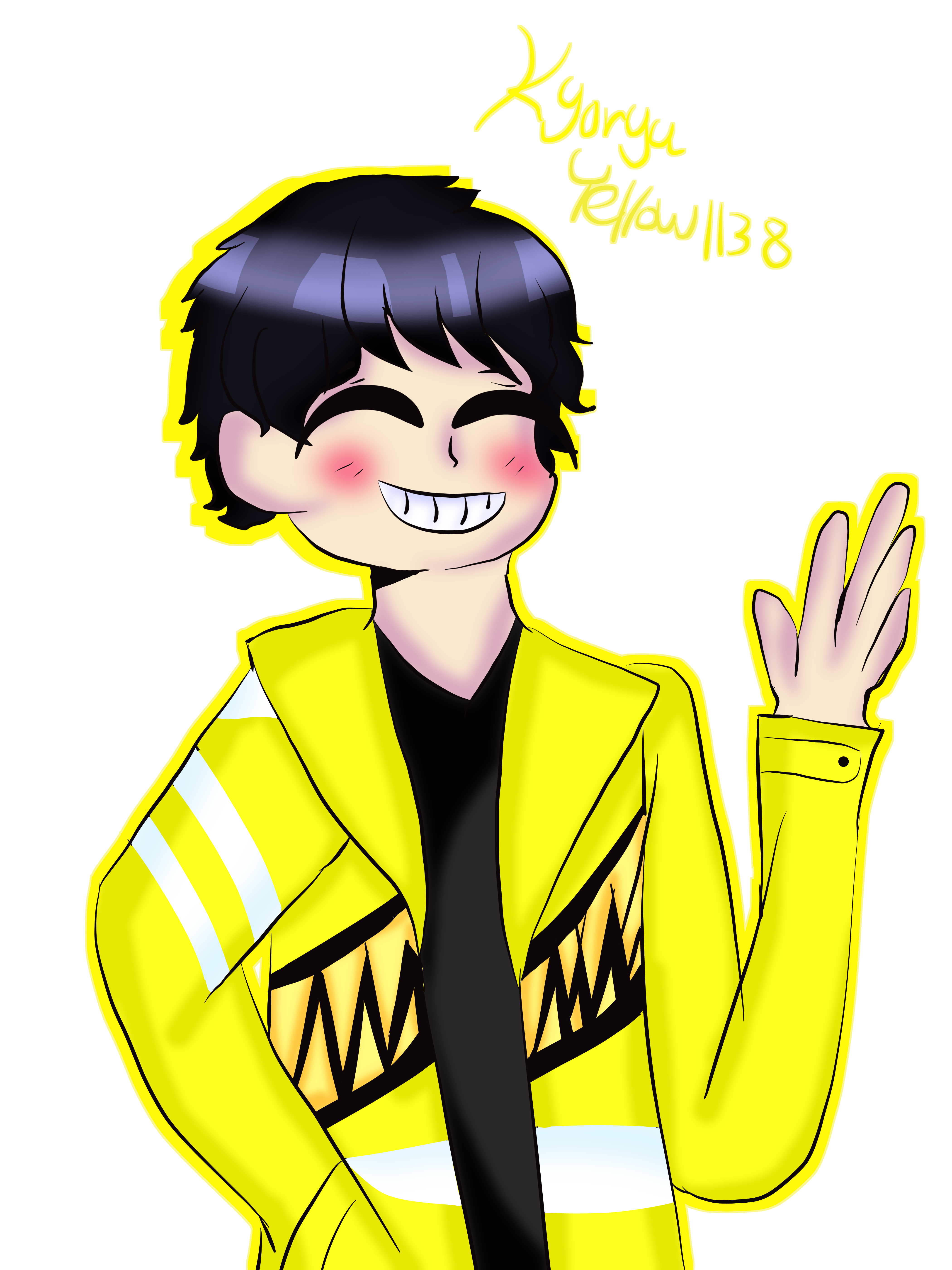 Boi transparent yellow. My by kari ever