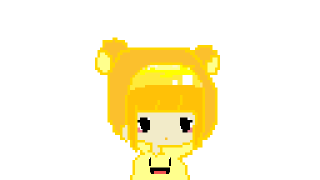 Boi transparent yellow. Pixilart a cute by