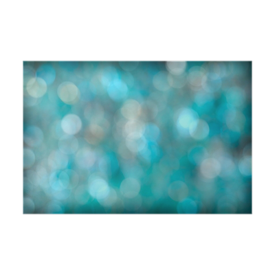 Bokeh vector aqua. Turquoise abstract background poster