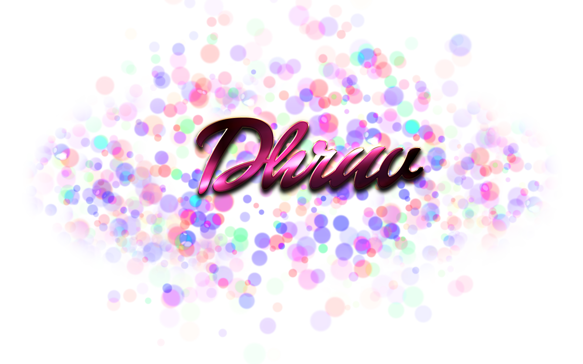 Bokeh vector diwali. Dhruv name png ready