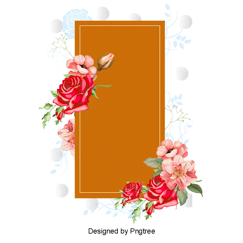 Bokeh vector rose gold. Red box png and