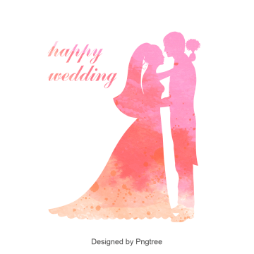 Bokeh vector wedding background. Couple png vectors psd