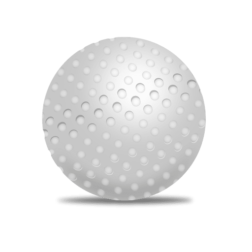 Golfball vector. Pelota de golf descargar