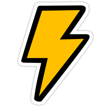 Bolt clipart cartoon. Free lightning pictures download