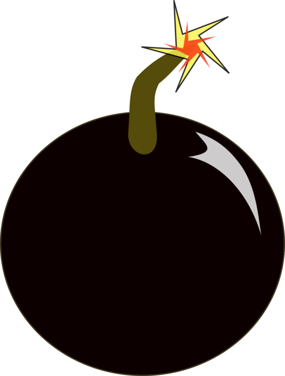 Bomb cartoon png. Nuclear weapon explosion free