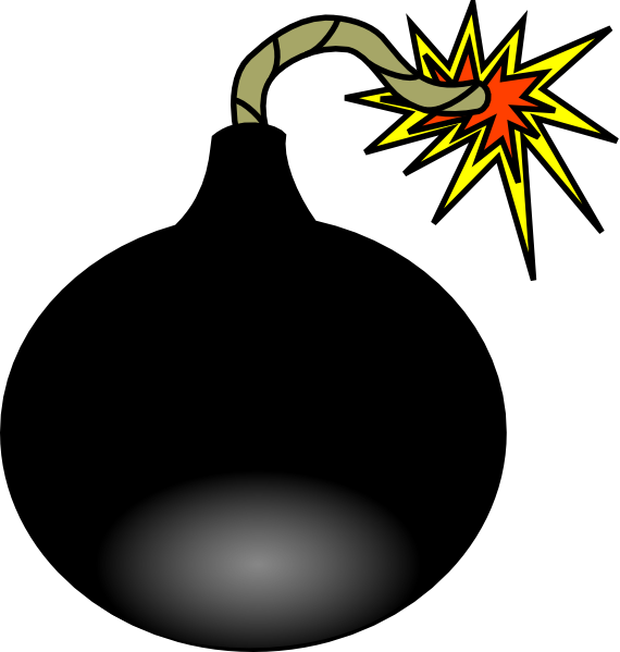 Bomb clipart. Animated
