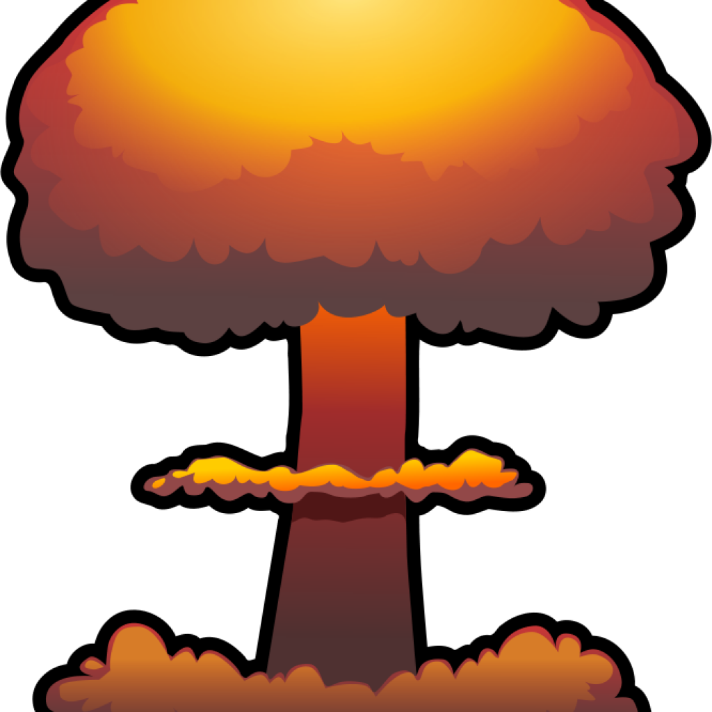 Bomb clipart heart. Nuclear free download explosion
