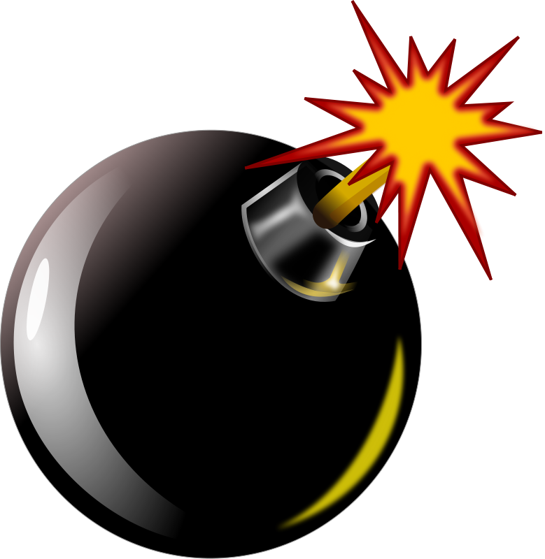 Bomb clipart wick. At getdrawings com free