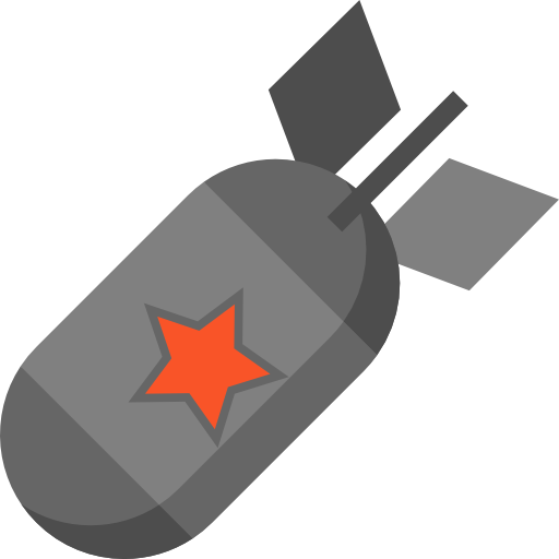 Bomb png. Icon svg