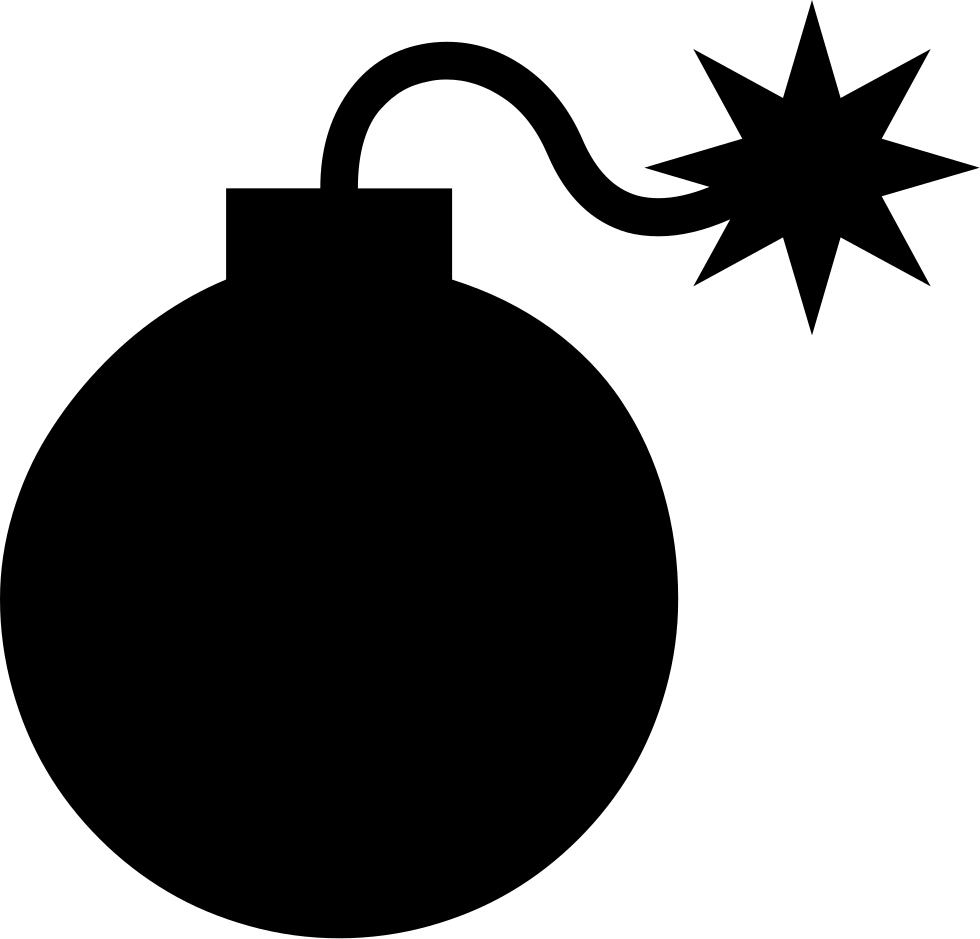 Bomb png. Svg icon free download
