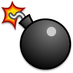 Bomb cartoon png. Sprite image