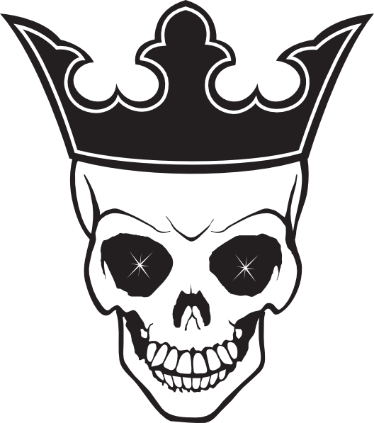 Bone crown png. Skull and tattoo transparent