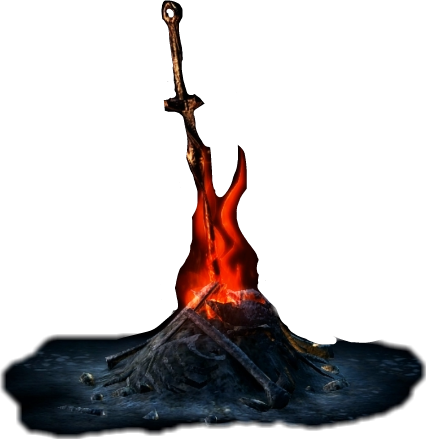 Bonfire dark souls png. Bonfirestickers darksouls gaming videogames
