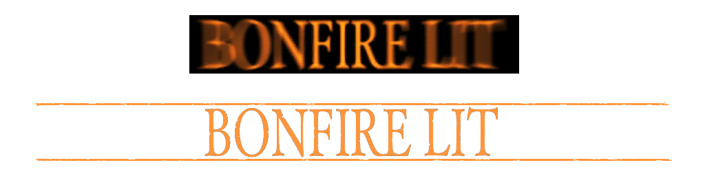 Bonfire lit png. Beta style annotations at