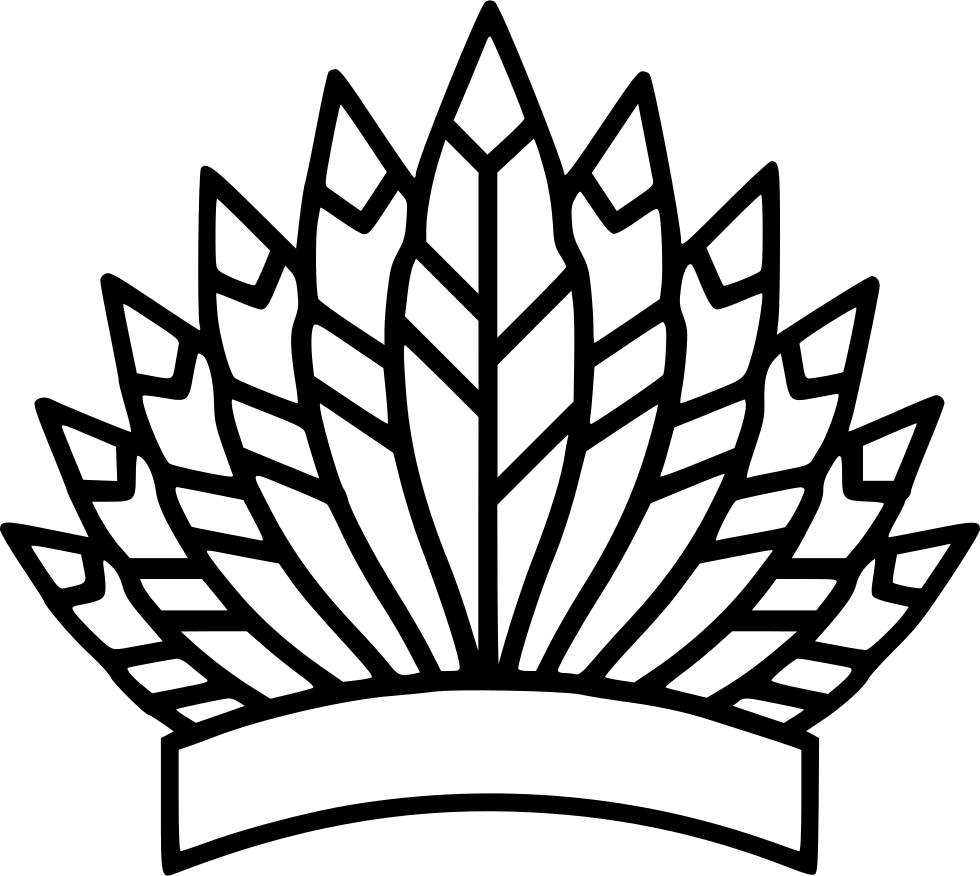 Bonnet drawing. War svg png icon
